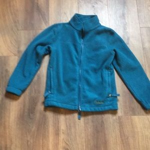 Girls extra small fleece jacket